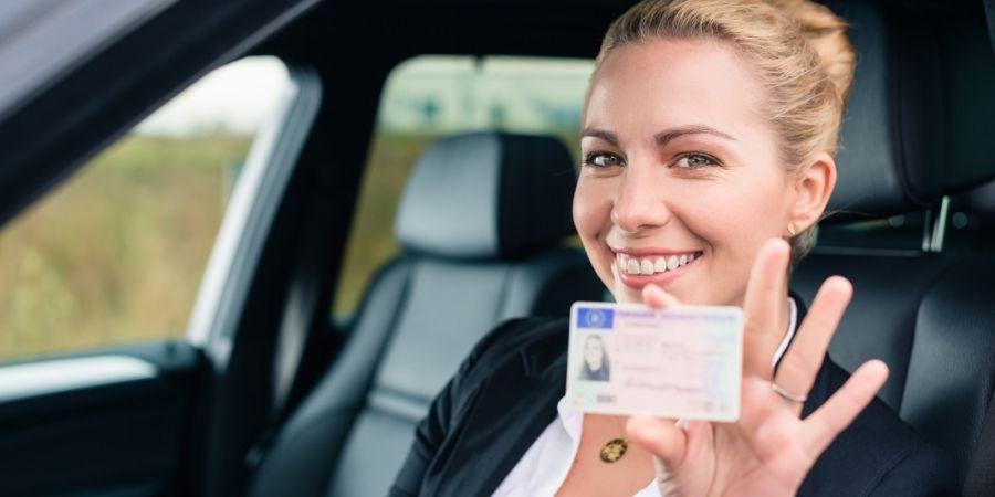 Licencia para conductor irlandés