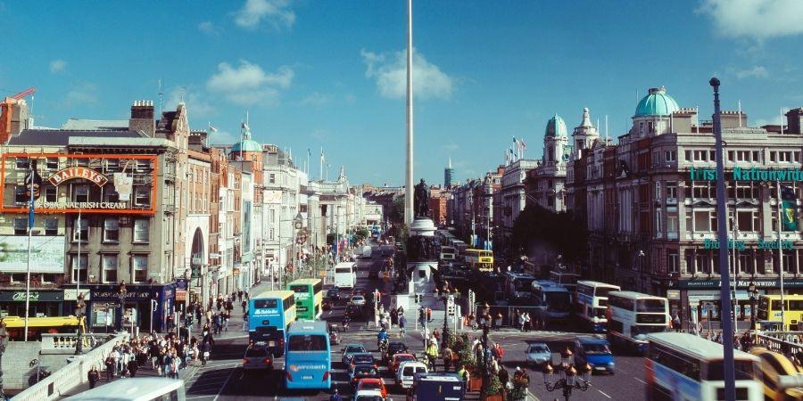 Capital de La Republica de Irlanda después de la división