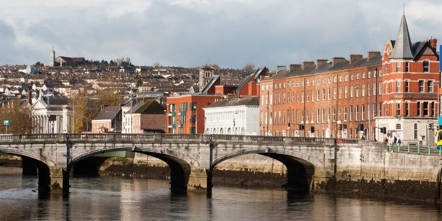 Ciudad de Gork Irlanda, Trabaja en esta ciudad sede de apple