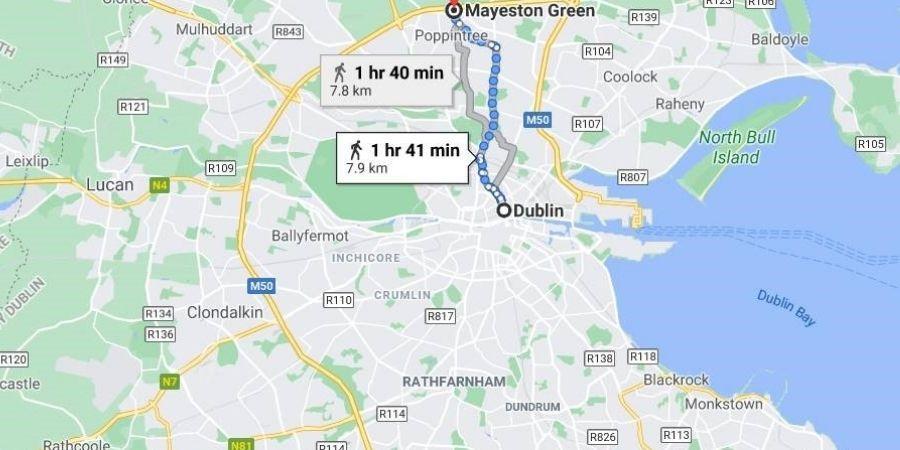Dublin solo a una hora para salir y entrar a la ciudad caminando, tu vida de ensueño