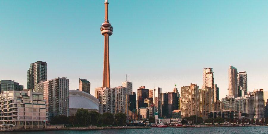 edificios de la ciudad de Canadá