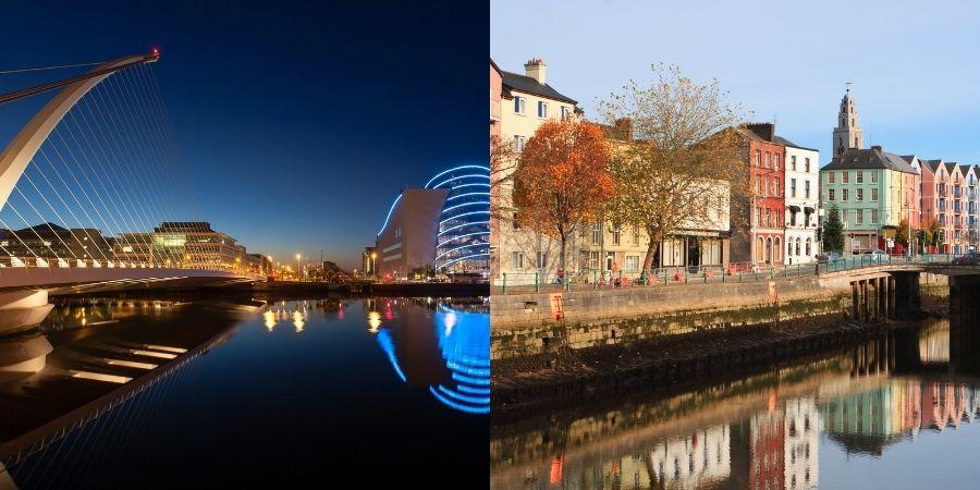 Decide estudiar si Dublin o Cork, ambos ofrecen sistemas diferentes, tu tomas las decisión