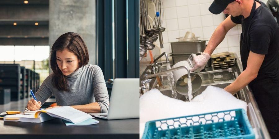 Trabaja y estudia en irlanda has uso de tu derecho de trabajar medio tiempo
