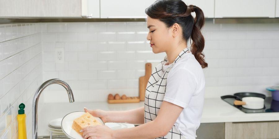 Mantener la cocina limpia es el objetivo principal