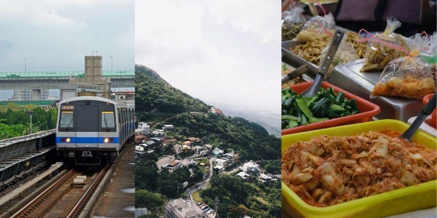 Costos generales por la vivienda, el transporte y la comida en Taiwán