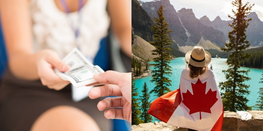 Salario mínimo que se recibe en Canadá