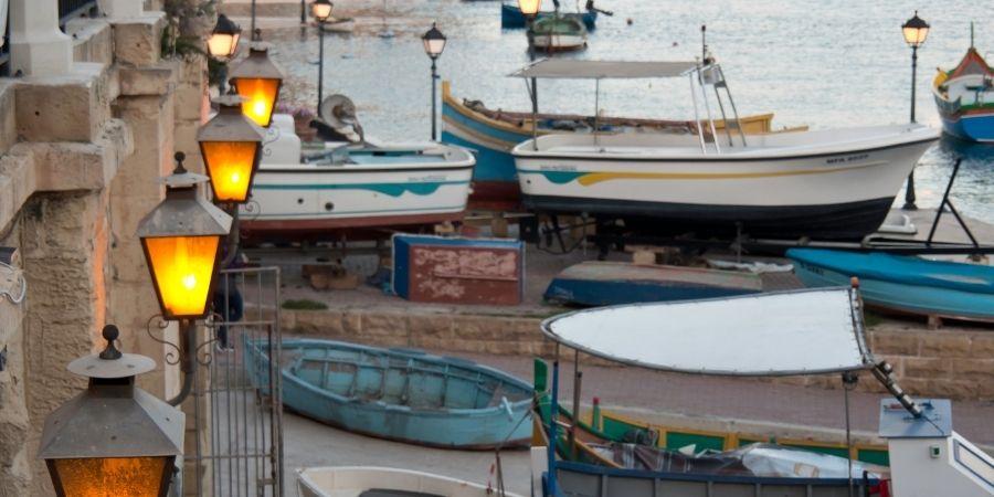 Gasto por transporte en Malta