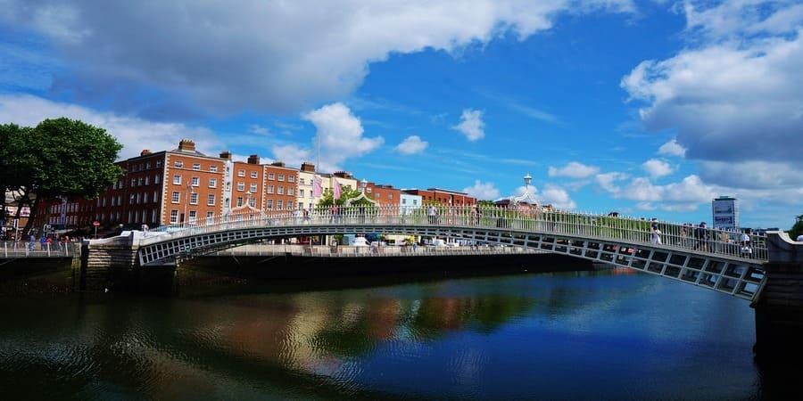 Dublín es la ciudad ideal en irlanda para trabajar y solicitar visa