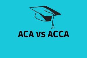 ACA vs ACCA